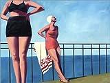Posterlounge Forex-Platte 130 x 100 cm: Schöner Tag von T.S. Harris/Bridgeman Images