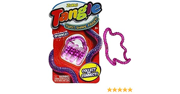 Magenta ZURU Tangle Sparkle Fidget