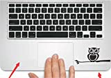 Sticker Superb. 2 Pcs Autocollants Art Decal Vinyle Compatible avec Macbook Air Pro...