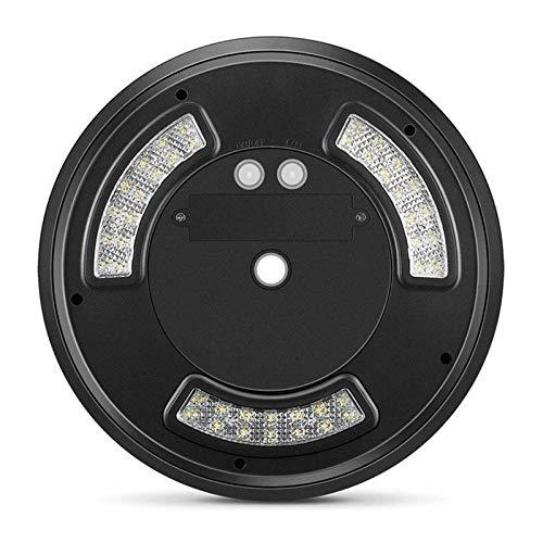 Max Electronics 42 LED Solar Flag 15ft-25ft Mast Lichter IP65 wasserdicht Fahnenmast Downlight Zelt schwarz (Mast-licht)