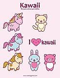 Kawaii libro para colorear para adultos 1: Volume 1