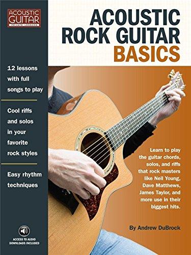 Andrew DuBrock: akustische Rock Guitar Basics. Noten für Guitar Tab (Andrews Elektronik)