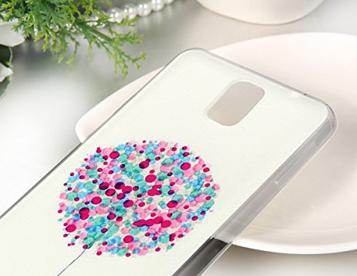 JewelryWe farbige Ballone Weltfrieden Symbol TPU Silikon Handy Case Schutzhülle Tasche Hülle Rückenschutzhülle Etui für Apple iPhone 4/4S 5/5S 6 6Plus Samsung Galaxy S4 S5 Samsung Galaxy Note 3 4