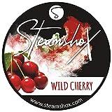 Steamshox® Wild Cherry - Piedras de Vapor (70 g, granulado de Piedra, sin nicotina)