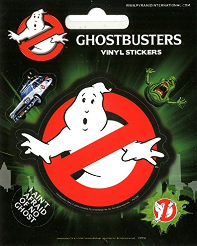 Ghostbusters Aufkleber Set 10x12.5cm. Offiziell (Party Supplies Ghostbusters)