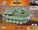Cobi 3021 Nano Tank T34, World of Tanks, 62 Bausteine