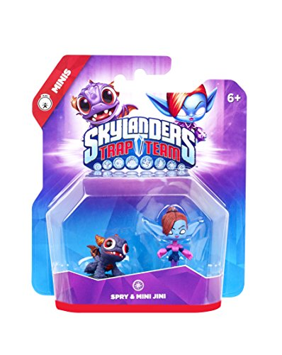 Figurine Skylanders : Trap Team - Spry + Mini Jini