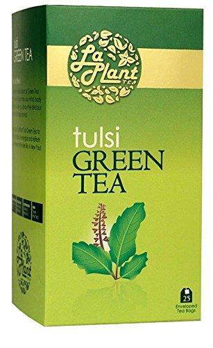 Laplant Tulsi Green Tea - 75 Tea Bags (pack Of 3)