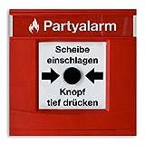 (80 x) Einladungskarten Geburtstag Partyalarm Feueralarm lustig witzig Einladungen