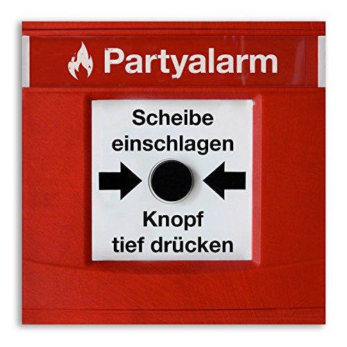 (30 x) Einladungskarten Geburtstag Partyalarm Feueralarm lustig witzig Einladungen