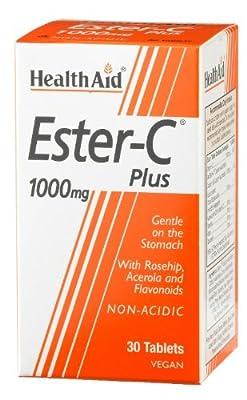 HealthAid Ester C 1000mg Plus - 30 Tablets by HealthAid