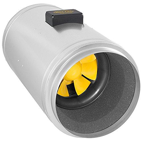 Can Fan Q-MAX 315 EC Fan Ventilador, 2850m³/HR, Plateado, 70x41x42 cm