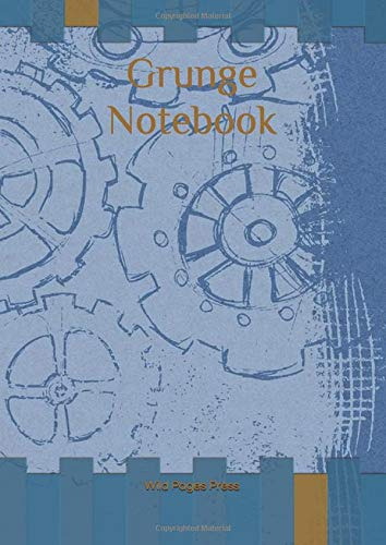 Grunge Notebook di Wild Pages Press