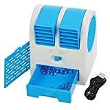#10: New Summer Special USB Fan Mini Air Conditioner Water Mist Fan With Lithium Battery Laptop Car Air Cooling Fan