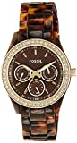 Fossil End of Season Stella Analog Brown...