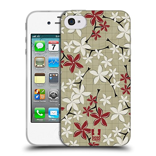 Head Case Designs Barattolo Di Sogni Barattoli Cover Morbida In Gel Per Apple iPhone 7 / iPhone 8 Plumeria