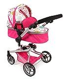 Bayer Chic 200059307-Carrito para muñecas Yolo, Color Blanco/Rosa