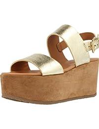 Sandalias y chanclas para mujer, color gold , marca ALPE, modelo Sandalias Y Chanclas Para Mujer ALPE 3423 R3 Gold