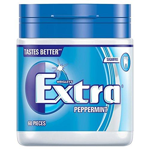 Extra Bouteille de Wrigley Peppermint 60 par paquet