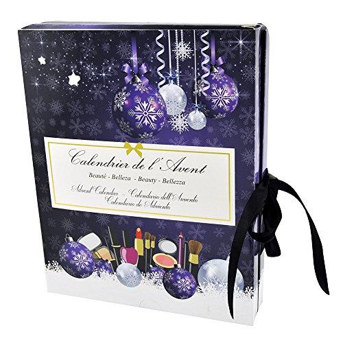 Gloss. Set regalo di Natale calendario dell' avvento Special makeup, pezzi