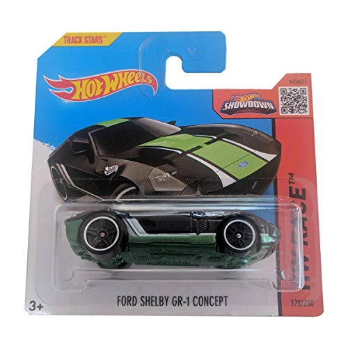 Hot Wheels Ford Shelby GR-1 Concept - HW Race 178/250 on short card