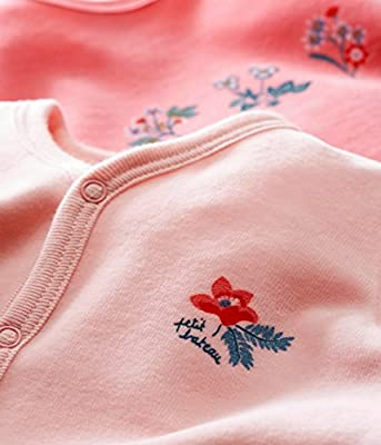 Petit Bateau Lot Trema, Camiseta de Pijama para Bebés (Pack de 2)