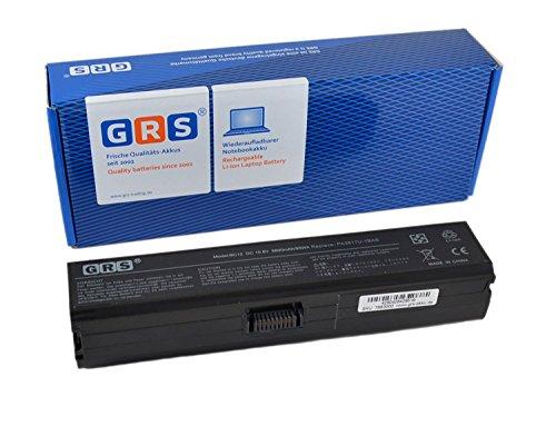 GRS–Batería de 8800mAh para Notebook Toshiba Satellite L770D, L750, L755, L735, sustituye a: PA3816U-1BRS, PA3817U-1BRS, PA3818U-1BRS, PA3819U-1BRS, PABAS227, PABAS228, PABAS229, PABAS230.Batería de iones de litio, 8800mAh, 10,8V
