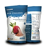 Finest Milk Belgian Chocolate Bag 900g - Suitable for a Chocolate Fountain and a Chocolate Fondue