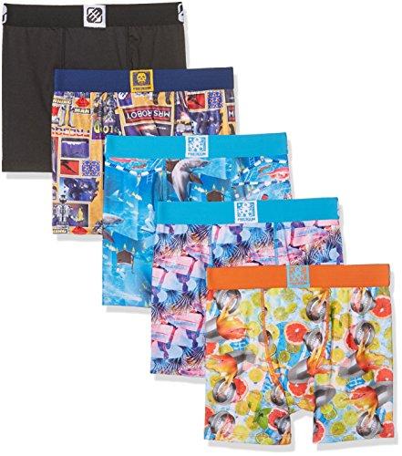 Freegun Herren Boxershorts Mehrfarbig (Multicolor A11)