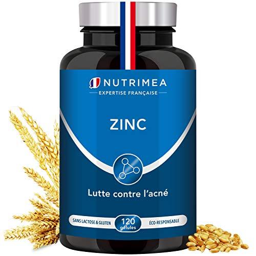 ZINC Citrate - Traitement de l'acné - Soutient le système immunitaire - 120 gélules végétales...