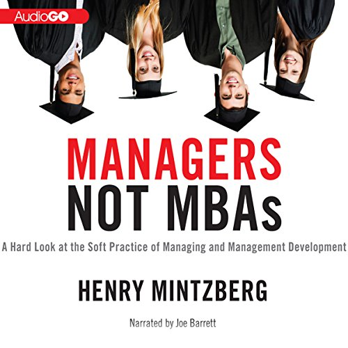 Managers Not MBAs  Audiolibri