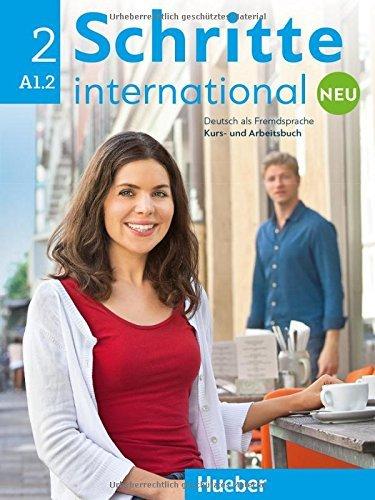 Schritte international Neu 2. Kursbuch + Arbeitsbuch + CD zum Arbeitsbuch by Daniela Niebisch (2016-04-01)