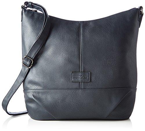 TOM TAILOR für Frauen Taschen & Geldbörsen Hüfttasche dark blue cognac, OneSize