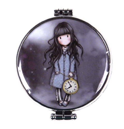 'The White Rabbit' Compact Pocket Handbag Mirror by Gor-juss