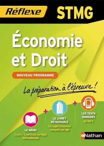 Economie et droit STMG par Analie Littière, Géraldine Paret