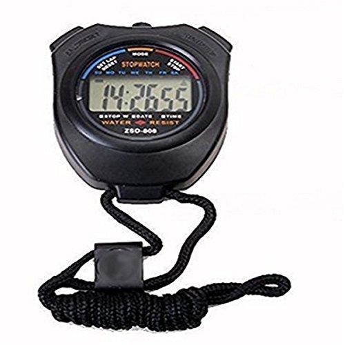 Cronómetro Digital Profesional cronógrafo LCD PDA