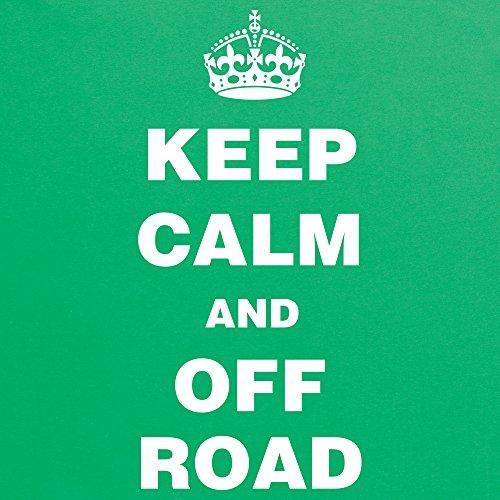 Keep Calm And Off Road T-Shirt, Herren Keltisch-Grn