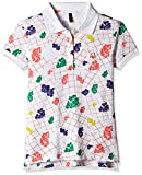 #10: United Colors of Benetton Baby Girls' Polo (16A3089C0153I1011Y_White_1Y)
