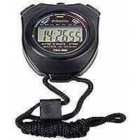 Cronómetro Digital Profesional del cronógrafo del LCD del PDA del Deporte de Handheld