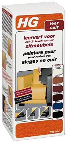 HG Vernice per pelle 250 ml, colore: bordeaux