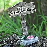 Fairy Garden UK Mini Holz Zeichen
