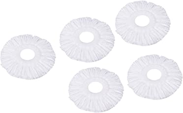 Eco Alpine Cute Microfiber High Absorbent Refill Set (White, Pack of 5)