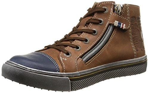 Gbb - Lucky, Baby Shoes per bimbi, Marrone (Marron (Vte Marron/Marine Dpf/2677)), 20