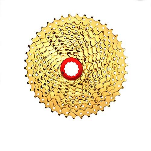 LYzpf Fahrrad Kassette Schwungrad Mountainbike Freilauf Bike Schraubkranz 10 Speed 11-42T Gear Kettenrad ErsatzzubehöR Teile (Shimano Kassette 10-fach Mtb)