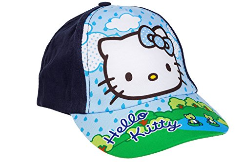 Hello Kitty Baseball Cap für Kinder, Dunkelblau, Art. 4693, Gr. 52 -