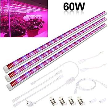 LED Wachsen Schlauch Stab IP65 48Inch 108W Für Hydroponik