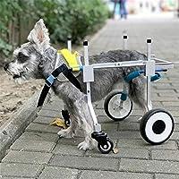 Silla De Ruedas para Perros Silla De Ruedas para Mascotas Cuatro Ruedas para Mascotas para Discapacitados