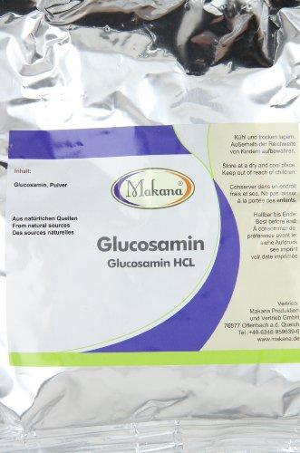 Makana Glucosamin HCL Pulver, 500 g Beutel (1 x 0,5 kg)