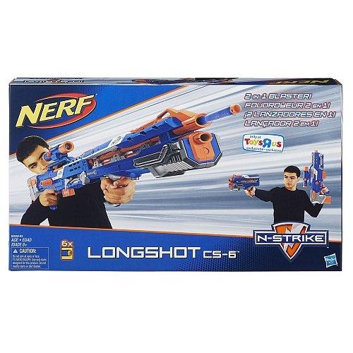 Longshot Nerf Strike N (Nerf N-Strike Longshot CS-6 Blaster)