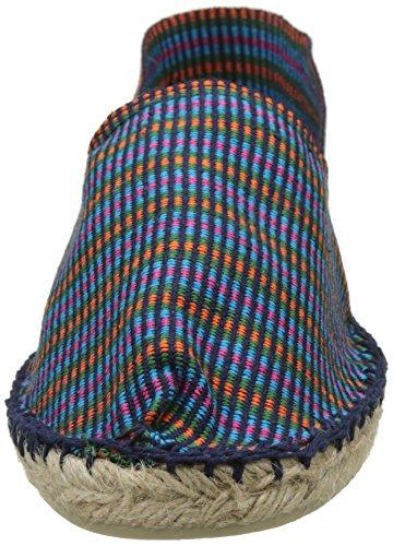 Cala Unisex-Erwachsene Classique 2 Espadrilles Bleu (Multi Aztèque Marine)